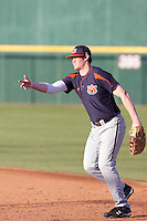 Hunter Morris, Auburn Tigers in a series at Arizona State University, 3/12 - 3/14/2010 .Photo by:  Bill Mitchell/Four Seam Images.