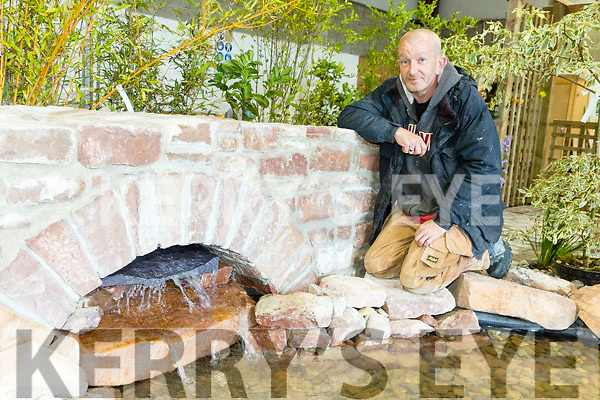 Traditional stone course with Kerry ETB and made a show garden. Pictured , Martin Maloney