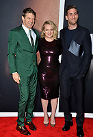 """LOS ANGELES, CA: 24, 2020: Jason Blum, Elisabeth Moss & Oliver Jackson-Cohen at the premiere of """"The Invisible Man"""" at the TCL Chinese Theatre.<br /> Picture: Paul Smith/Featureflash"""
