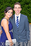 Students at a combined Killarney debs enjoying themselves at the Earl of Desmond Hotel on Thursday night  left to right: Louise O Donoghue, Fionán O'Donoghue