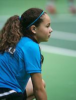 10-02-14, Netherlands,Rotterdam,Ahoy, ABNAMROWTT,, ,  Ballgirl <br /> Photo:Tennisimages/Henk Koster