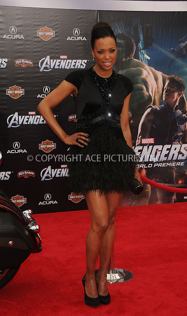 WWW.ACEPIXS.COM . . . . .  ....April 11 2012, LA....Aisha Tyler arriving at the premiere of 'The Avengers' at the El Capitan Theatre on April 11, 2012 in Hollywood, California. ....Please byline: PETER WEST - ACE PICTURES.... *** ***..Ace Pictures, Inc:  ..Philip Vaughan (212) 243-8787 or (646) 769 0430..e-mail: info@acepixs.com..web: http://www.acepixs.com