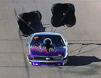 Feb 25, 2017; Chandler, AZ, USA; NHRA top sportsman driver Joe Roubicek during qualifying for the Arizona Nationals at Wild Horse Pass Motorsports Park. Mandatory Credit: Mark J. Rebilas-USA TODAY Sports