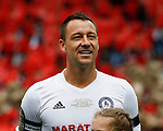 John Terry smiles as he is boo'd by the crowd during the Michael Carrick Testimonial match at the Old Trafford Stadium, Manchester. Picture date: June 4th 2017. Picture credit should read: Simon Bellis/Sportimage