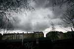 Sunday March 16th 2008.  .Paris, France.In a car.Quai de la Megisserie - 1st Arrondissement.