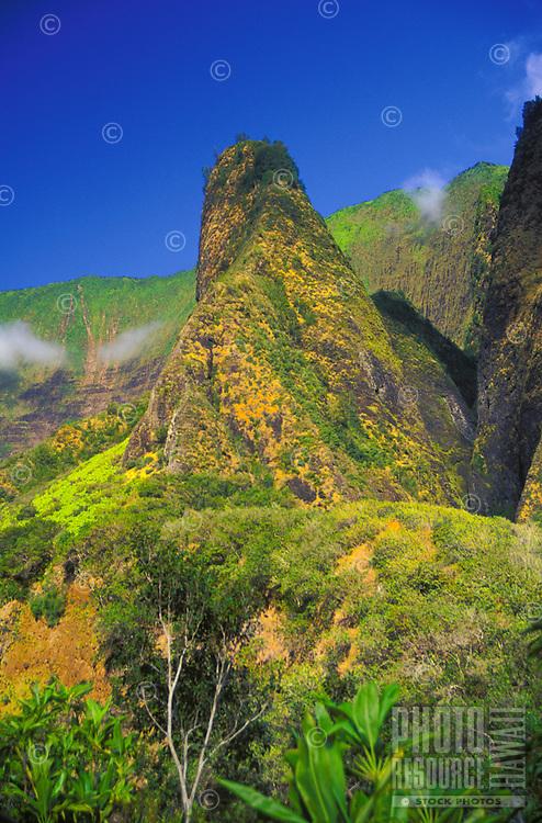 1,200-foot Iao Needle, Iao Valley State Park, Wailuku, Maui