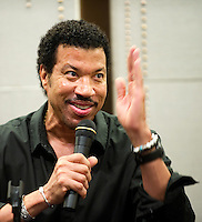 HONG KONG, CHINA - SEPTEMBER 27:  US singer/songwriter Lionel Richie attends a press conference a day before his special one-night concert, at the W Hotel on September 27, 2010 in Hong Kong.  Photo by Victor Fraile / studioEAST