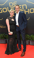 20180207 – BRUSSELS ,  BELGIUM : Timmy Simons (R) pictured during the  64nd men edition of the Golden Shoe award ceremony and 2nd Women's edition, Wednesday 7 February 2018, in Brussels Heyzel Palace 12. The Golden Shoe (Gouden Schoen / Soulier d'Or) is an award for the best soccer player of the Belgian Jupiler Pro League championship during the year 2017. The female edition is the second in Belgium.  PHOTO DIRK VUYLSTEKE | Sportpix.be