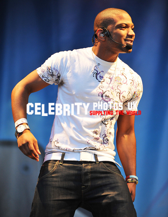 JLS at the midlands music festiva lin the tamworth castle grounds staffordshire in aid of premature baby charity just on life