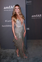 NEW YORK, NY - FEBRUARY 6: Heidi Klum arriving at the 21st annual amfAR Gala New York benefit for AIDS research during New York Fashion Week at Cipriani Wall Street in New York City on February 6, 2019. <br /> CAP/MPI99<br /> ©MPI99/Capital Pictures