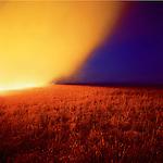 Fire near Cassoday, Kansas, 1990