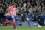 Atletico de Madrid's Diego Godin and -Juanfran Torres and Juventus' Cristiano Ronaldo during a UEFA Champions League match. Round of 16.  February, 20,2019. (ALTERPHOTOS/Alconada)