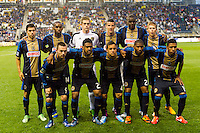 Philadelphia Union starting eleven. The Philadelphia Union defeated the Chicago Fire 1-0 during a Major League Soccer (MLS) match at PPL Park in Chester, PA, on May 18, 2013.