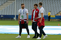 England players inspect the pitch before England Under-21 vs Poland Under-21, UEFA European Under-21 Championship Football at The Kolporter Arena on 22nd June 2017