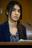 "12.02.2016 - ""Yazidi ISIS Survivor - A Conversation with Nadia Murad"""