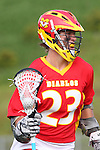 Mission Viejo, CA 05/14/11 - Jordan Bernardin (Mission Viejo #23) in action during the Division 2 US Lacrosse / CIF Southern Section Championship game between Mission Viejo and Loyola at Redondo Union High School.
