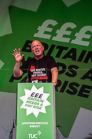 Matt Wrack (General Secretary of the Fire Brigades Union, FBU).<br />