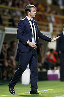 Spain's coach Julen Lopetegui during FIFA World Cup 2018 Qualifying Round match. September 5,2016.(ALTERPHOTOS/Acero)