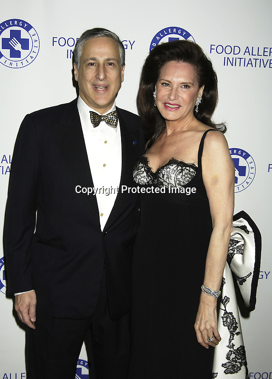 Todd J Slotkin and Sharyn T Mann ..at The 2005 Food Allergy Ball benefiting The Food Allergy ..Initiative on November 29, 2005 at The Pierre Hotel. ..Photo by Robin Platzer, Twin Images