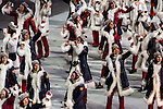 Olympic team of Russia during the parade of nations at the Opening ceremony of the 2014 Sochi Olympic Winter Games at Fisht Olympic Stadium on February 7, 2014 in Sochi, Russia. Photo by Victor Fraile / Power Sport Images