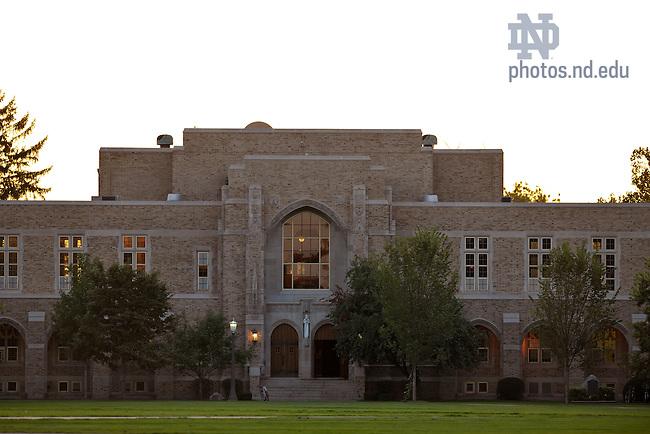 Rockne Memorial exterior..Photo by Matt Cashore/University of Notre Dame