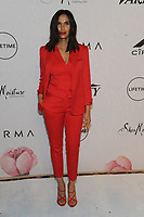 NEW YORK, NY - APRIL 13: Padma Lakshmi at Variety's Power Of Women: New York at Cipriano Wall Street in New York City on April 13, 2018. <br /> CAP/MPI/PAL<br /> &copy;PAL/MPI/Capital Pictures
