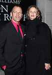 Joe Coleman & Janet McTeer attending the Broadway Opening Night Performance of 'Cat On A Hot Tin Roof' at the Richard Rodgers Theatre in New York City on 1/17/2013