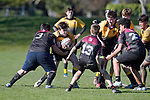 NELSON, NEW ZEALAND - JULY 25: U15 Rugby Nayland v Motueka at Greenmeadows, Nelson, 25th July, New Zealand. (Photos by Barry Whitnall/Shuttersport Limited)