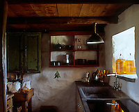Despite its vernacular authenticity, the cottage is equipped with a fully functioning 21st century kitchen