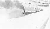 Rotary snowplow OM working in snow<br /> D&amp;RG  Cumbres Pass, CO
