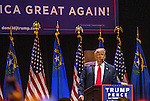 Republican presidential nominee Donald Trump holds a campaign Rally at The Venetian Las Vegas October 30, 2016 in Las Vegas, Nevada.