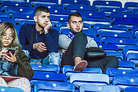 Supporters during the Premier League match between Leicester City and Tottenham Hotspur at the King Power Stadium, Leicester, England on 21 September 2019. Photo by James  Gill / PRiME Media Images.