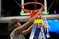 SPOKANE, WA - MARCH 28, 2011: Coach Bobbie Kelsey, Stanford Women's Basketball vs Gonzaga, NCAA West Regional Finals at the Spokane Arena on March 28, 2011.