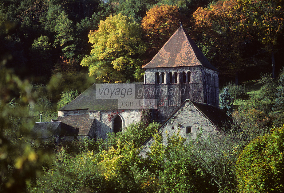 Europe/France/Limousin/23/Creuse/Moutier-d'Ahun: Abbaye du Moutier d'Ahun