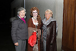 Kathleen Smith with Aisling and Eileen McMahon at the Ghost Tour of Oldbridge House..(Photo credit should read Jenny Matthews www.newsfile.ie)....This Picture has been sent you under the condtions enclosed by:.Newsfile Ltd..The Studio,.Millmount Abbey,.Drogheda,.Co Meath..Ireland..Tel: +353(0)41-9871240.Fax: +353(0)41-9871260.GSM: +353(0)86-2500958.email: pictures@newsfile.ie.www.newsfile.ie.