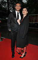 Tom Austen and Poppy Corby-Tuech at the Daisy Ball, Grosvenor House Hotel, Park Lane, London, England, UK, on Saturday 12 May 2018.<br /> CAP/CAN<br /> &copy;CAN/Capital Pictures