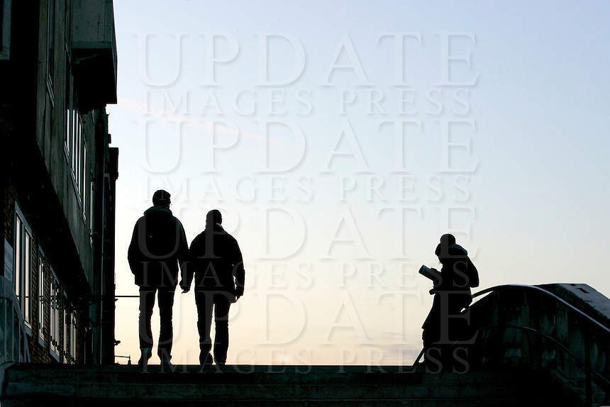 Uno scorcio delle Fondamenta Nuove a Venezia.<br /> View of the Fondamente Nove in Venice.<br /> UPDATE IMAGES PRESS/Riccardo De Luca