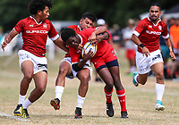 World Schools Sevens, Sacred Heart College, Auckland, New Zealand. Saturday 16 December 2017. Photo: Simon Watts/www.bwmedia.co.nz
