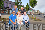 Members of Abbeyfeale Tidy Towns Committee, pictured last Thursday in the town was  front l-r: Jim Cahill, ANgela O'Rourke, Kevin Kennelly. B l-r: John Manten and Christy Kelliher.