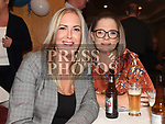 Sarah Harding and Mags O'Brien at the Slane GFC awards night in Stackallen Tennis Club. Photo:Colin Bell/pressphotos.ie