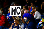 PENSACOLA, FL - DECEMBER 09: A fan holds a sign for Elizabeth Mohr (13) of Concordia University, St. Paul during the Division II Women's Volleyball Championship held at UWF Field House on December 9, 2017 in Pensacola, Florida. (Photo by Timothy Nwachukwu/NCAA Photos via Getty Images)