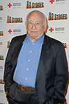 ED ASNER. Arrivals to a special reading of 110 Stories, with proceeds to benefit the Red Cross at the Geffen Playhouse. Los Angeles, CA, USA. February 22, 2010. .