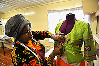 Ruth at Work in the Township of Nyanga, Cape Town, South Africa 2009