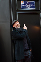 Vincent Cassel attends the Vidocq street inauguration at the 19th Arras Film Festival - France