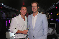 Todd Smith and Dion Nicely attend The Friends of Finn by the Shore party at Finale East on Aug. 2, 2014 (Photo by Taylor Donohue/Guest of a Guest)