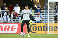 San Jose, CA - Saturday April 08, 2017: David Bingham  prior to a Major League Soccer (MLS) match between the San Jose Earthquakes and the Seattle Sounders FC at Avaya Stadium.