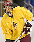 Peter Harrold - The Boston College Eagles practiced on Wednesday, April 5, 2006, at the Bradley Center in Milwaukee, Wisconsin, in preparation for their 2006 Frozen Four Semi-Final game against the University of North Dakota.