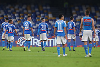 Napoli dejection players<br /> Napoli 30-10-2019 Stadio San Paolo <br /> Football Serie A 2019/2020 <br /> SSC Napoli - Atalanta BC<br /> Photo Cesare Purini / Insidefoto