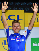 TROYES, FRANCE - JULY 6 : KITTEL Marcel (GER) Rider of Quick-Step Floors Cycling team during stage 6 of the 104th edition of the 2017 Tour de France cycling race, a stage of 216 kms between Vesoul and Troyes on July 06, 2017 in Troyes, France, 06/07/2017<br /> Ciclismo Tour De France 2017 <br /> Foto Photonews / Panoramic / Insidefoto <br /> ITALY ONLY