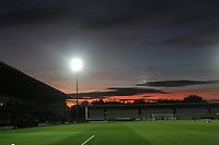 A general view of the Pirelli Stadium,hime od Burton Albion<br /> <br /> Photographer Mick Walker/CameraSport<br /> <br /> The Carabao Cup Round Three   - Burton Albion  v Burnley - Tuesday  25 September 2018 - Pirelli Stadium - Buron On Trent<br /> <br /> World Copyright &copy; 2018 CameraSport. All rights reserved. 43 Linden Ave. Countesthorpe. Leicester. England. LE8 5PG - Tel: +44 (0) 116 277 4147 - admin@camerasport.com - www.camerasport.com